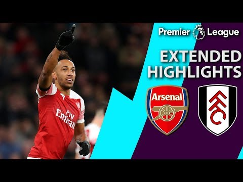 Video: Arsenal v. Fulham | PREMIER LEAGUE EXTENDED HIGHLIGHTS | 1/1/19 | NBC Sports