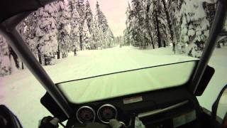 10. Snowmobiling Westwood, CA in the Ski-Doo Elite Part 2