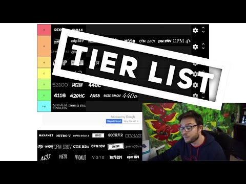 Blade Steel Tier List