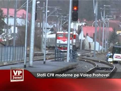 Staţii CFR moderne pe Valea Prahovei