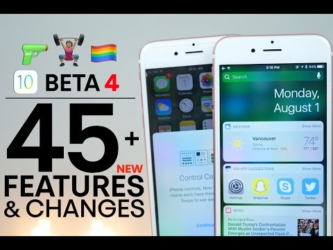 iOS 10 Beta 4 – 45+ New Features & Changes Review!