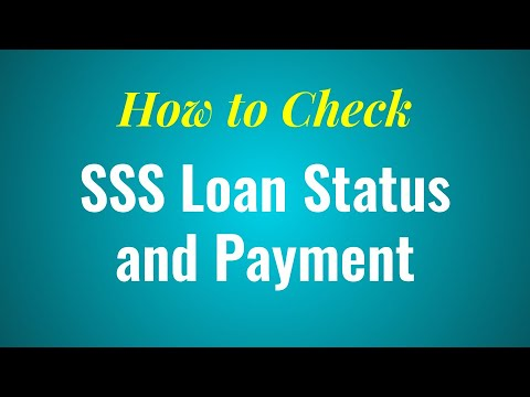 How to Check SSS Salary Loan Status and Payment Online