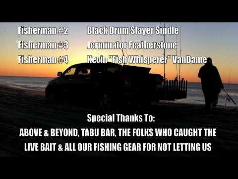 Emerald Isle, NC 2010 – Fall Fishing – Red Drum / Black Drum
