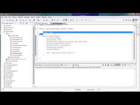 Java Tutorial 66 – Text in GUI anzeigen lassen / JLabel