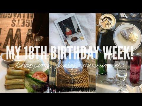 18TH BIRTHDAY CELEBRATIONS | A VLOG | Rebecca Ellie