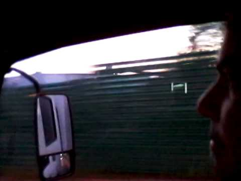 Selfie Riding in work truck