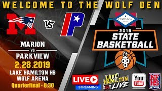 Marion vs Parkview | 5A Boys State Basketball | February 28, 2019
