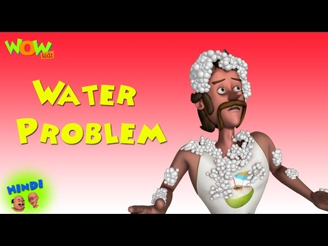 Water Problem - Motu Patlu in Hindi WITH ENGLISH, SPANISH & FRENCH SUBTITLES