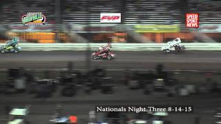 Knoxville8 Raceway 8-14-15 Nationals night 3