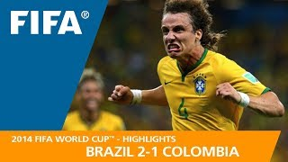 Video BRAZIL v COLOMBIA (2:1) - 2014 FIFA World Cup™ MP3, 3GP, MP4, WEBM, AVI, FLV Juli 2018