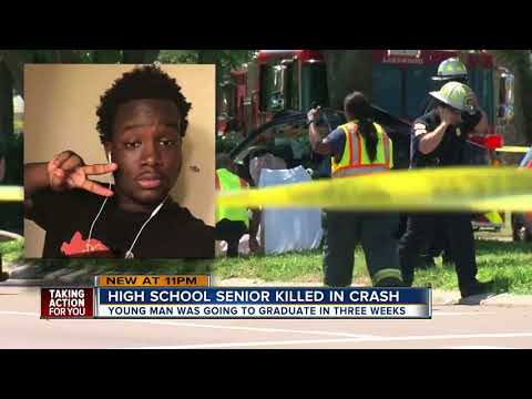 Community mourns the death of teen killed in crash 3 weeks before Lakewood High School graduation