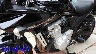 9. Coolant Flush on a Suzuki Bandit 1250s |¦| Sum4Seb Motorcycle Video