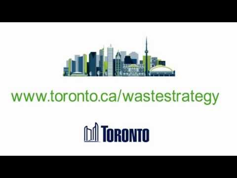 Toronto's Draft Waste Strategy