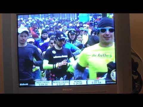Boston Marathon 2018 start