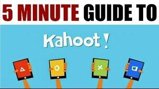 Video 5 Minute Guide to Kahoot MP3, 3GP, MP4, WEBM, AVI, FLV Oktober 2018
