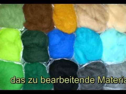 nadel-filz-art.de  – nadelfilzen Haare kämmen gift needle felt