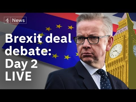 Brexit debate LIVE: MPs discuss Theresa May's deal for the second day|#BREXIT