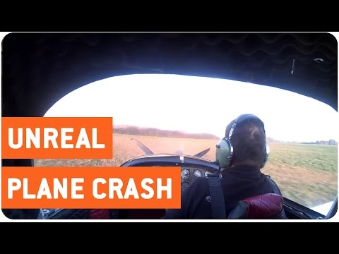 That Is Gonna Leave A Mark! Pilot Survives Unreal Plane Crash!