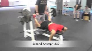 Cressey: Impromptu/Mock Powerlifting Meet - 1435 total at 181