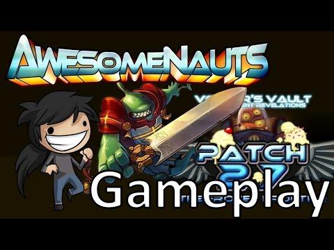Awesomenauts Beta 2.7 - Scoop Gameplay