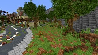 Minecraft: Apocalyptic City Let's Build #3 | Trees, Bushes, Flowers!
