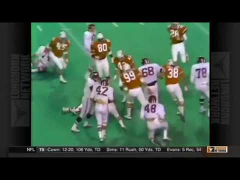 Keith Jackson calls Darrell Royal's last game