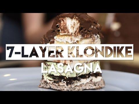 How to Make 7Layer Klondike Bar Lasagna
