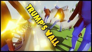 trump wall simulator