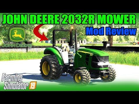 John Deere 2032R 4x4 v1.0