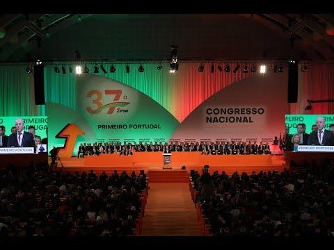 37.º Congresso do PSD - Anúncio dos Órgãos Eleitos