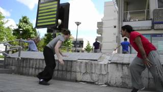 Evry France  City new picture : Energy of Life Parkour Team in Evry (Paris-France)
