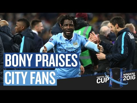 Video: THE FANS WERE AMAZING | Bony Reaction | Capital One Cup Final