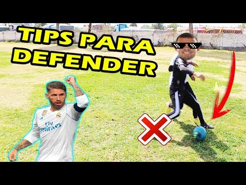 TUTORIAL PARA DEFENSAS ⚽️ TIPS Para DEFENDER MEJOR En El FÚTBOL