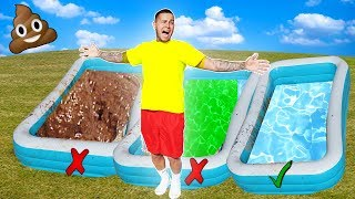 Video DONT Trust Fall into the Wrong Pool!! *GROSS* MP3, 3GP, MP4, WEBM, AVI, FLV Maret 2019