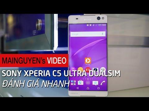 Đánh giá nhanh Sony Xperia C5 Ultra Dual - www.mainguyen.vn
