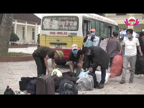 Quỳ Hợp tiếp nhận, cách ly 100 công dân đợt 2 trở về từ Lào và Thái để phòng chống Covid - 19
