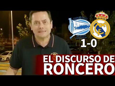 Alavés 1-0 Real Madrid  Las palabras de Roncero para tratar de espabilar al Madrid  Diario AS
