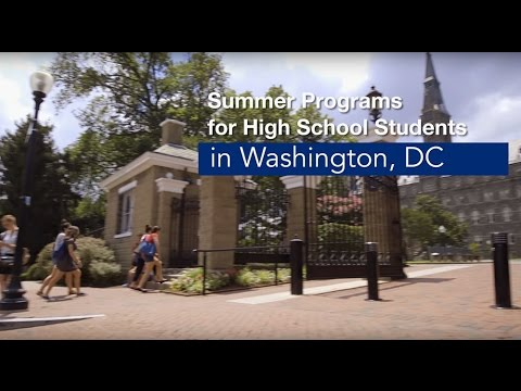 Georgetown University Summer Pre-College Program – National Security & Intelligence Academy