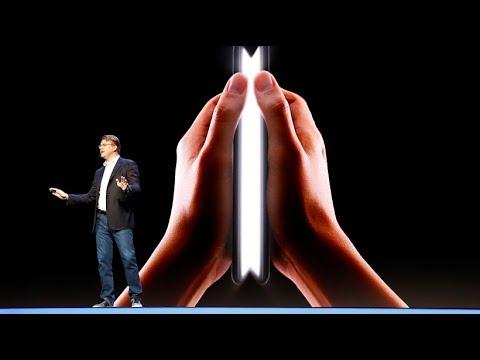 Samsung stellt faltbares Smartphone vor und geht d ...