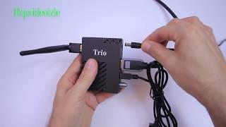 Trio Ip Uydu Alıcı kurulumu ve kullanımı