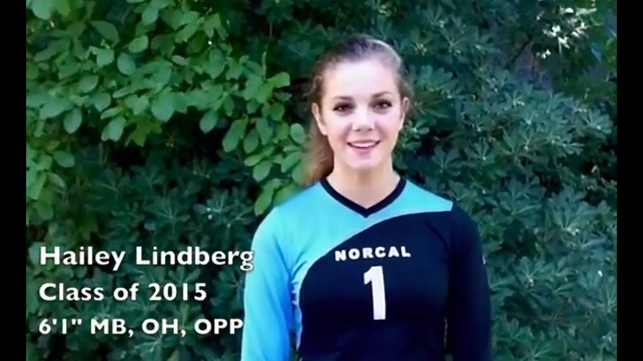 Hailey Lindberg Class of 2015 Volleyball Recruiting video '12