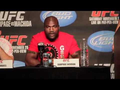 Quinton Rampage Jackson UFC 123 PreFight Presser Comments