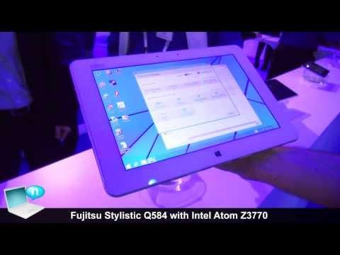 Fujitsu Stylistic Q584 with Intel Atom Z3770