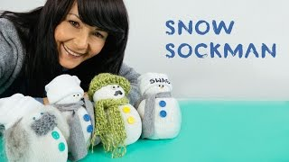 Don't throw your old, white socks away! Upcycle them to create this funny, little Sock Snowman to cheer you up this winter! :) Step-by-step Tutorial: http://...