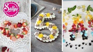 Fruchttorte / Buchstabentorte / Cream Tarte / Trendtorte 2018