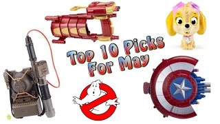 TTPM Top 10 Toys in May 2016