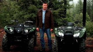 4. The Yamaha Grizzly 450 EPS versus Honda Rancher