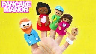 Finger Family Song for Kids | Pancake Manor