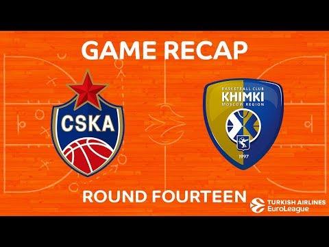 CSKA Moscow 79-68 Khimki Moscow Region 22 Dec, 2017