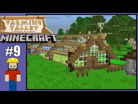 Farming Valley #9 - Minecraft Series - Greenhouse Build